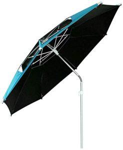 Parasols d'extérieur en aluminium pour terrasse, parapluie de plein air peut être incliné adapté pour la pêche, le camping, le jardin ou le parasol extérieur (taille : S)