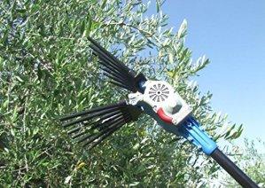 Peigne OliwATT 2 Liam pour ramassage d'olives, râteau, pour fabrication d'huile extra-vergine d'olive.