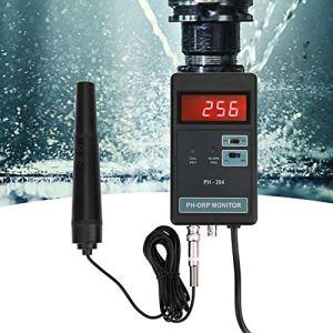 PH ORP mètre haute précision ORP température moniteur fonction de verrouillage des données affichage LED numérique avec électrode(European standard 220V)