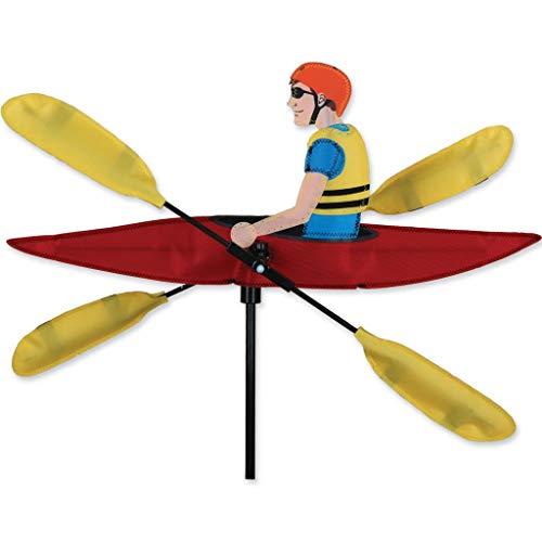 Premier Kite Whirligig Kayak Girouettes figuratives, Multicolore