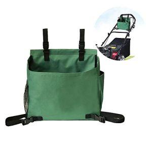 Sac à outils de jardin avec poches pour tondeuse à pousser, accessoires de jardinage, sac de rangement réutilisable, vert