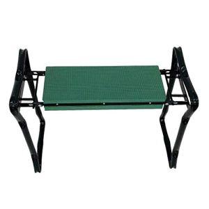 Sotech – Siège de Jardin Pliable, Banc Agenouilloir de Jardin, Vert, Taille déployée: 62 x 48 x 28 cm, Charge maximale: 110 kg