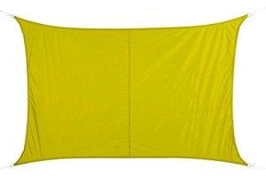 Toile solaire Voile d'ombrage rectangulaire 2 x 3 m en tissu déperlant – Coloris VERT