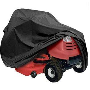 Travel Supplies Housse de protection en polyester pour tracteur Noir 177 x 110 x 110 cm