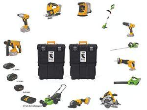 VITO Professional Kit d'outils de batterie 20 V