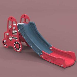 WHL Jouet Multifonctionnel De Glissière De Bébé à La Maison D'intérieur pour Enfants(Color:Rouge)
