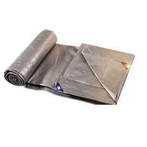 YYF Étanche à la poussière Bâche en Plastique bâche Tissu en Plastique Pare-Soleil Protection Solaire en Tissu bâche Anti-oxydation (Size : 10 * 12M)