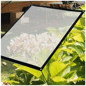 ZHANGGUOHUA-zhuanyi Bâche Imperméable sur Mesure Film Transparent Windows Protection Contre La Pluie Balcon Plantes à Fleurs Abri Voile D'ombre Visible 2 * 3 M(Size:5X2M)