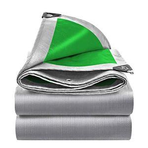 ZHANGGUOHUA-zhuanyi PE Bâche Imperméable Tissu Pare-Soleil Voile Bateau Voiture Camion Auvents Bâche Feuille De Sol Camping Pet House Tissu Imperméable 0.32mm(Size:5M*6M/16.4 * 19.6FT)