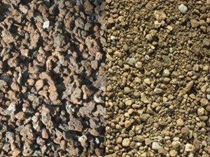 100 kg Substrat pour toiture végétale – sorte 3 – lave / ponce