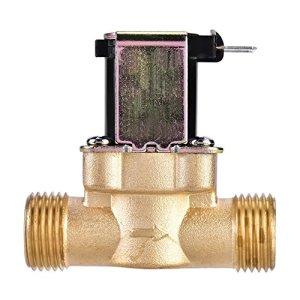 1/2″vanne d'eau magnétique magnétique de solénoïde électrique en laiton CA 220V normalement fermée pour la machine à laver, le distributeur d'eau et l'irrigation de jet de jardin