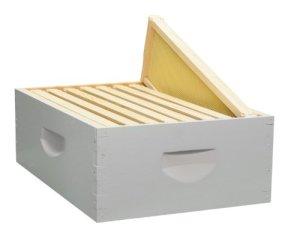 8 cadres assemblés peints Honey Super kit cadres en bois, fabriqués aux États-Unis