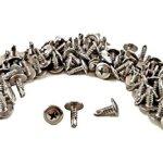 # 8x pouce inoxydable à tête Philips Self percer Vis pour feuilles de métal Tek, Lot de 100, 410en acier inoxydable, modified Truss Tête Auto foreuse, S45H#08050