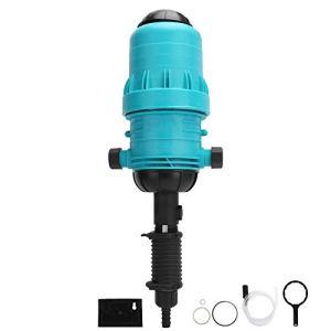 Asixxsix Pompe doseuse d'engrais, équipée d'une soupape de Ventilation, injecteur d'engrais, opération Simple Facile à Utiliser pour l'irrigation des eaux usées à Domicile