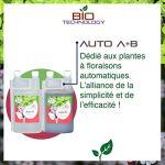 Bio Technology® |Engrais Minéral de Croissance | Engrais de Floraison |Engrais Autofloraison et Autoflo| Auto A+B – 1 L