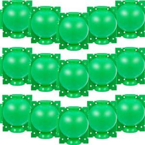 Boîte d'Enracinement de Plante Balle de Propagation Boîte à Racines de Plantes de Jardin Assistée par Dispositif de Greffage Contrôleur de Racine de Coupe et de Racine Botanique, S, Vert (20 Pièces)