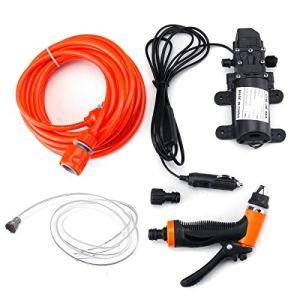 Cenpen 12V 160 psi Nettoyeur haute pression Pompe à eau à haute pression à membrane Amorçage automatique Pompe à eau automatique Commutateur