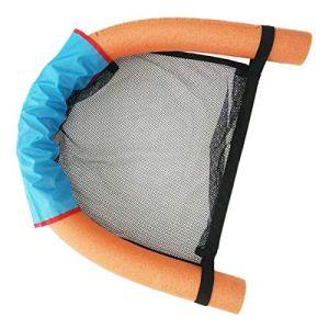 Chaises flottantes en maille – Hamac de piscine – Chaise flottante en forme de nouilles – Pour adultes et enfants