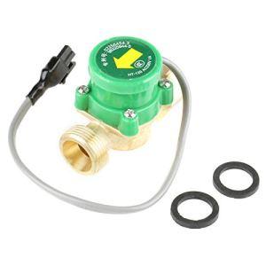 Commutateur de débit de pompe, commutateur de pompe à eau, haute sensibilité, résistance à hautes températures, conception compacte, performances stables pour la pressurisation de l'eau du