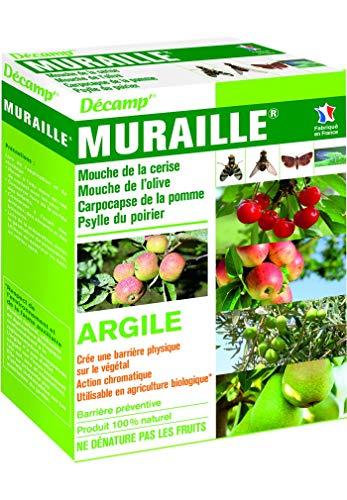 Décamp – Argile blanche contre la mouche de la cerise, de l'olive, psylle du poirier