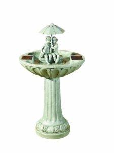 Fontaine parapluie solaire