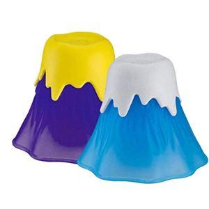 Forme 1pc Volcan Micro-ondes Cleaner, Micro-ondes Nettoyeur Vapeur Cuisine Outil De Nettoyage (couleur Aléatoire)