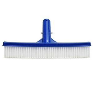 Gesh Brosse de piscine durable de 25,4 cm de large avec poils en nylon doux et résistants pour le nettoyage de toutes les surfaces de la piscine