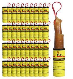Hywean Attrape Mouche Papier Tue Mouche l'intérieur à l'extérieur Utilisez Les Mouches, Les moustiques et Autres Insectes Volants(40 Rouleaux)