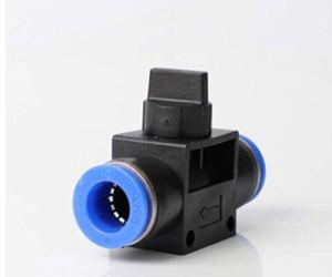 IQS Robinet d'arrêt pneumatique 3/2 voies 8 mm