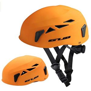 KNOSSOS Outdoor Expansion Cave Rescue Mountaineering Helmet Downhill Helmet – Orange