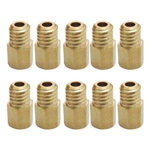 LEXIANG 10 Jets Principaux de Type Hexagonal s'adaptent au carburateur VM/TM/TMX 200-290 200210220230240250260270280290
