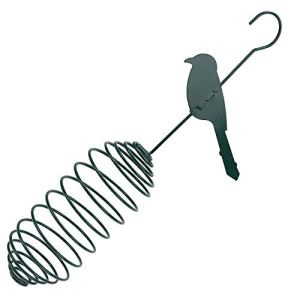 LIANGLEY Mangeoire À Oiseaux, Distributeur De Nourriture pour Mangeoires À Oiseaux en Plein Air, pour Boules De Graisse pour