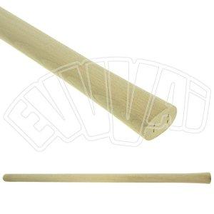 Manche de pioche en bois D. 58x 40mm x 100cm oeil ovale pour agriculture orto