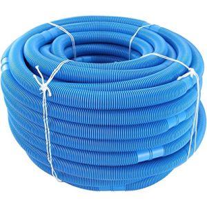 Nihlsfen Tuyau de Piscine Tuyau d'eau de Haute qualité pour Piscine et Piscine 32 mm de diamètre Longueur Totale 6 m résistant aux UV et au Chlore