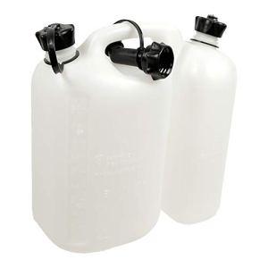 Oregon 562408combi-can Transparent, 5L de carburant et 3l d'huile