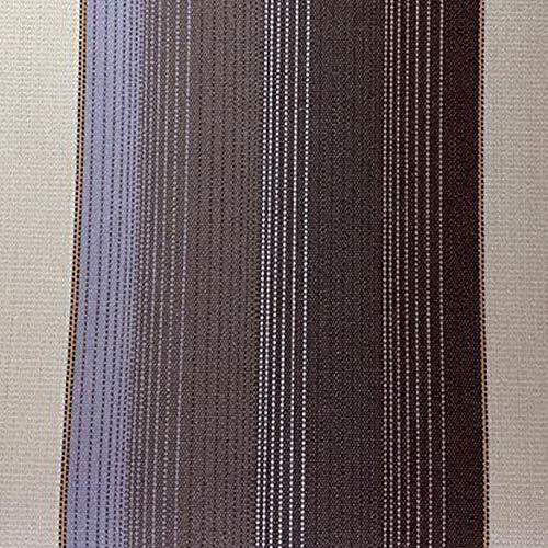 Panini Tessuti, Tissu pour Rideaux de Soleil Rayures Larges au Demi mètre olyester – Marquises d'extérieur, Excellente résistance dans Le Temps – Hauteur Fixe: 140 cm ou 200 cm