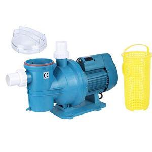 Pompe de Circulation pour Piscine, Système de Traitement de l'eau avec Aspiration, Résistance Haute et Basse Température, Utilisée pour Pompe de Bassin/Pompe de Piscine(220V)