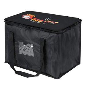 Sac nourriture Livraison Pizza isolé Livraison Sac de transport Leakproof emporter alimentation sac réutilisable de sac d'épicerie Restaurant Supplies pour garder les aliments à chaud ou à froid (28L)