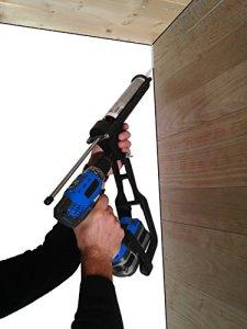 Tivoly 11110520001 T-GUN Pistolet à Cartouche Adaptable sur Visseuse et Perceuses