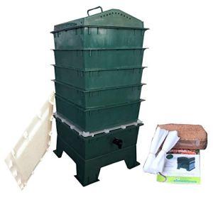 VermiHut 5-Tray Worm Poubelle à Compost