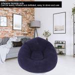 Zerodis Chaises Longues de Patio, Chaise de canapé sphérique Simple Gonflable Ultra Douce pour Pique-Nique de Camping de Voyage en Plein air de dortoir