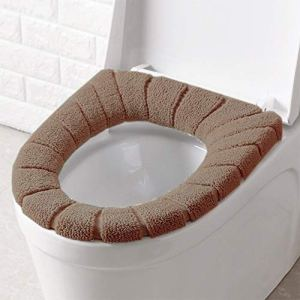 Zhouzl Maison & Jardin Coussin de Toilette en Forme de Citrouille, diamètre: 30 cm Maison & Jardin (Couleur : Coffee)