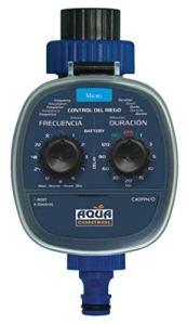 Aqua Control C4099O Programmateur d'irrigation de jardin. Nez Robinet 1 Voie, Noir