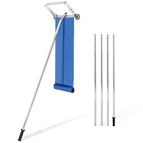 Balai à neige pour toit de 6,1 m avec manche télescopique réglable
