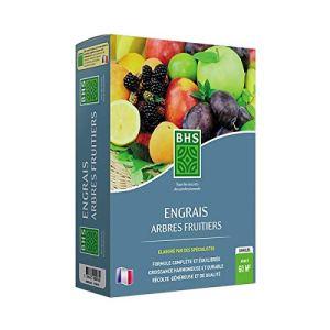 BHS EAF2 Engrais Arbres Fruitiers | 2,5 kg | Soit 60 m² | L'Azote Apporté Favorise Une Croissance Régulière Et Vigoureuse des Rameaux, Fabriqué en France