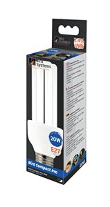 Bird Systems Lampe Compact Pro 2,4% UVB pour Oiseau/Animal Sauvage 20 W