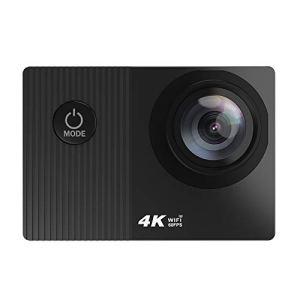 Caméra d'action étanche 4K 60 fps Wifi, écran tactile 2″, télécommande utilitaire à utiliser