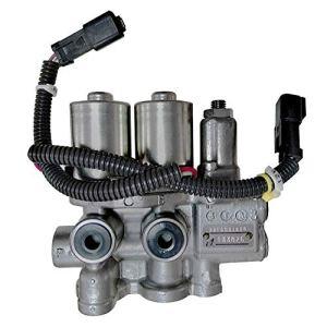 Ensemble Délectrovanne de Pompe Principale 22F-60-21201 22F6031600 22F-60-31600 Adapté pour Pelle Komatsu Pc18mr-2 Pc18mr-3 Pc35mr-2 Pc35mr-3 Pc40mr-2 Pc45mr-3 Pc50mr-2 Pc55mr-3