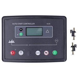 EXID Contrôleur de générateur, contrôleur Automatique de générateur avec écran LCD rétro-éclairé DSE6110 DC 8V-35V