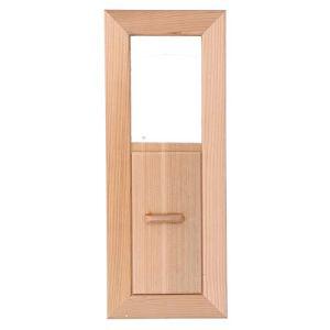 Fdit Grille carrée de Ventilation d'air de Sauna équipement de Ventilation rectangulaire en Bois de Grille pour Salle de Sauna et Piscine